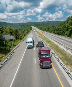 Transportation Insurance from Richards Insurance provides coverage for the trucking and transporation industries.